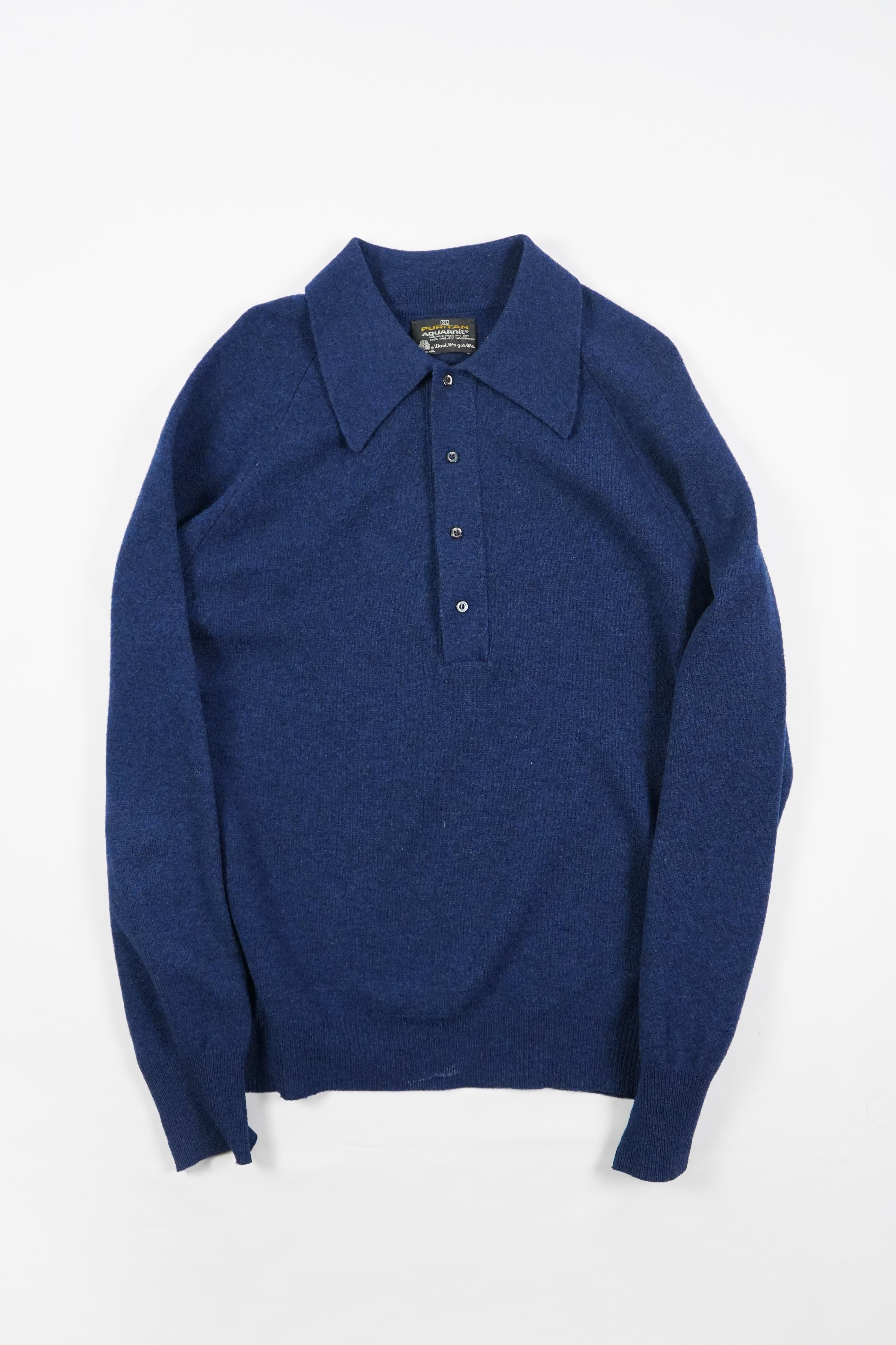 70' KNIT POLO LAMBSWOOL