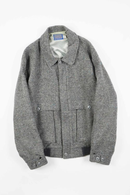 OLD WOOL BLOUSON JACKET
