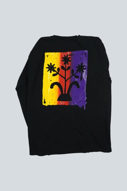 SILENT SOUND FLOWERS L/S TEE