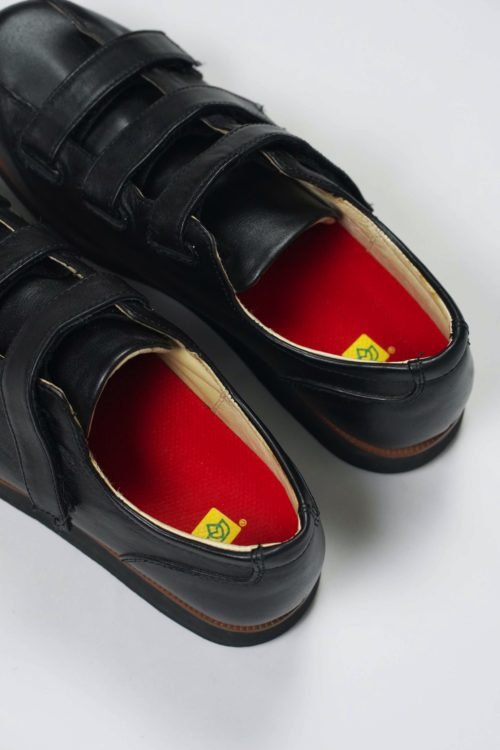 DEADSTOCK VELCRO LEATHER SHOES
