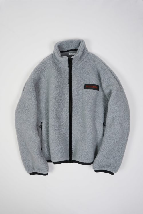 FLEECE JACKET GRAY COLOR