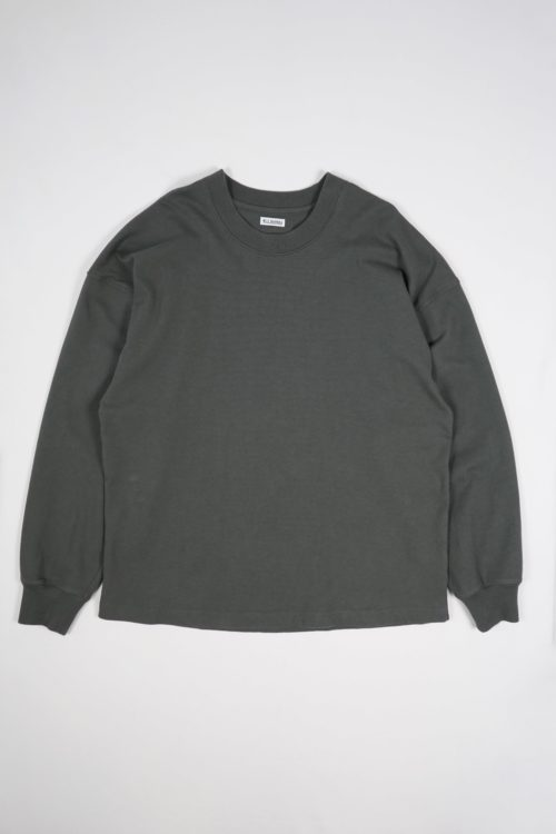 RUFF NECK L/S TEE SHIRTS