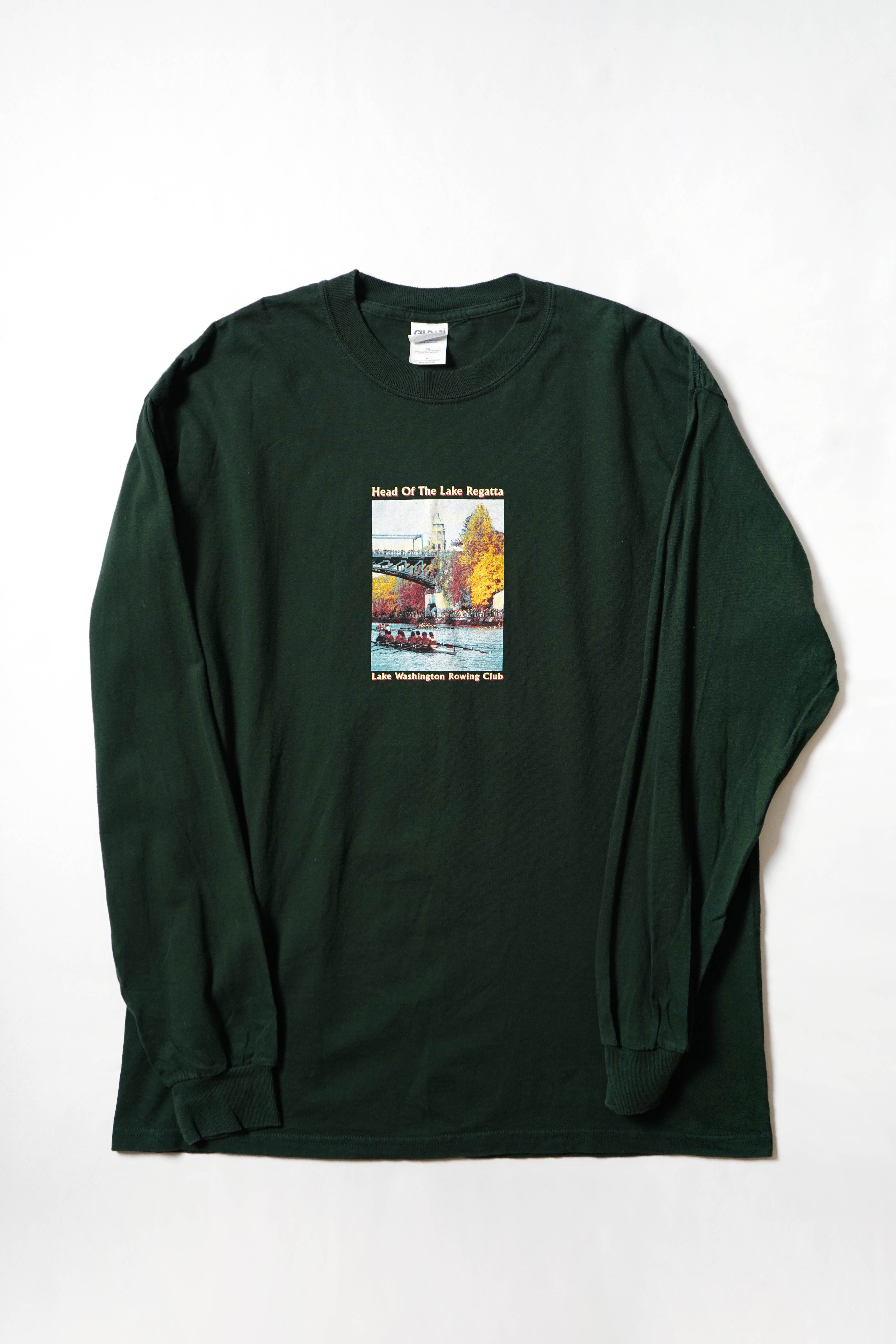 PRINTED LONG SLEEVE TEE(copy)
