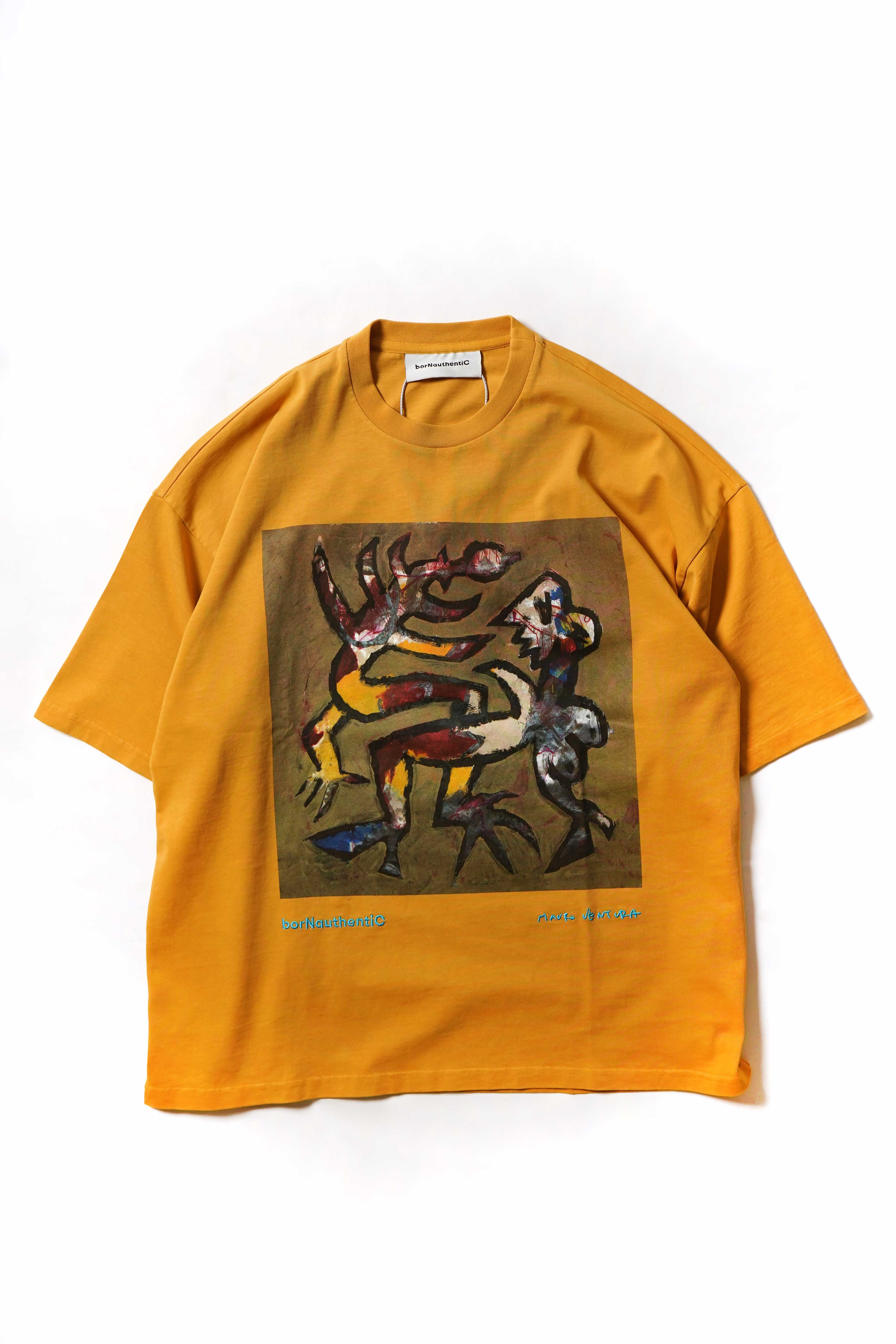 TOMAS T-SHIRTS YELLOW