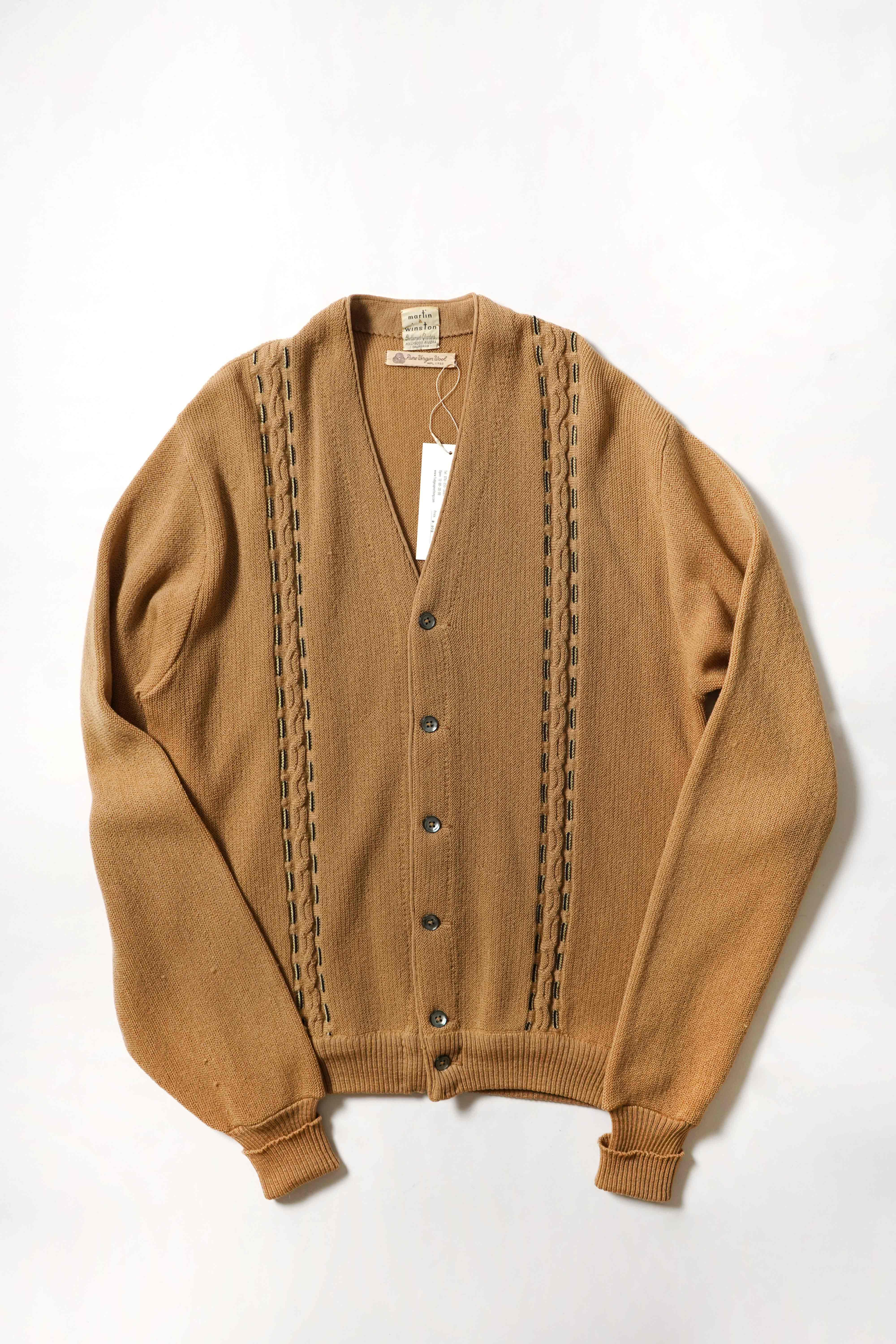 OLD WOOL CARDIGAN