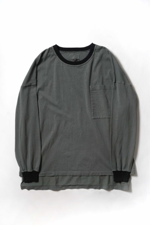 POCKET L/S T-SHIRT