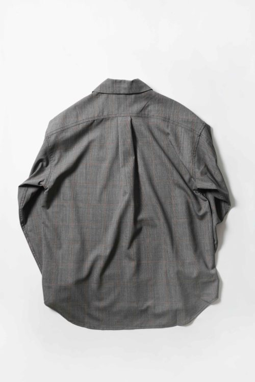 Minimal shirts manches longues Grey check