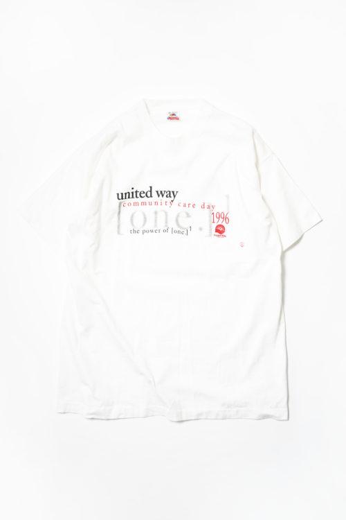 UNITED WAY VINTAGE TEE