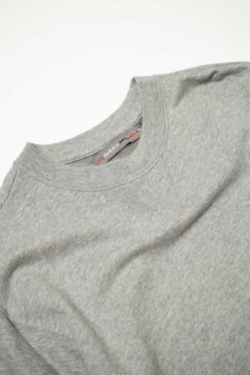PELLY ELLIS RIB DETAIL CUTSEW GRAY
