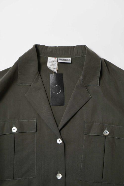 Open Collar Over Shirt