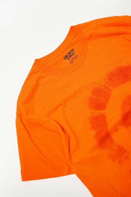 TYE DYE ORANGE COLOR TEE