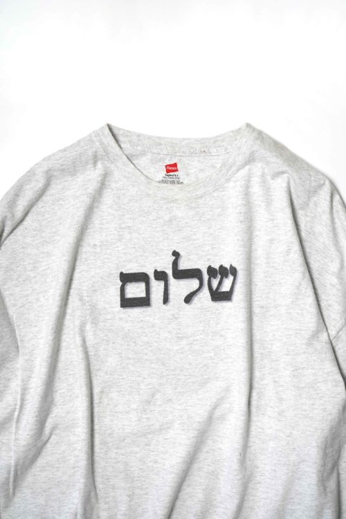 Shalom PRINTED TEE ASH GREY