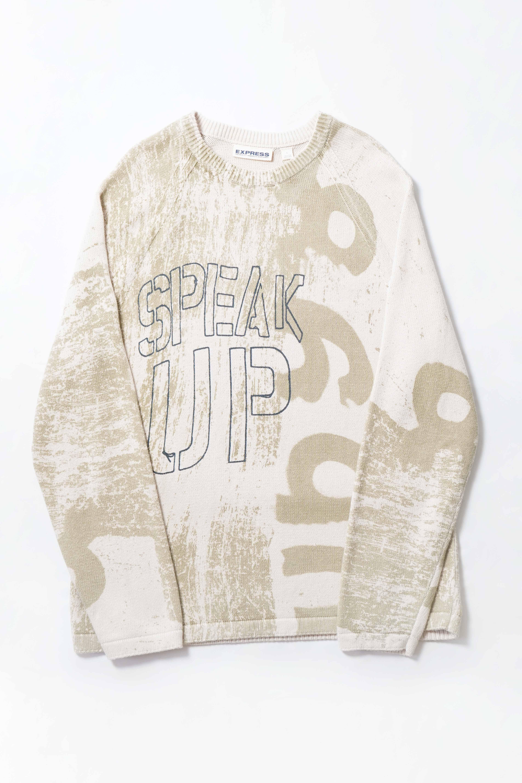 SPEAK UP Cotton Knit