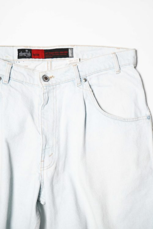 Levi's SILVER TAB L.BLUE DENIM SHORT PANTS(copy)