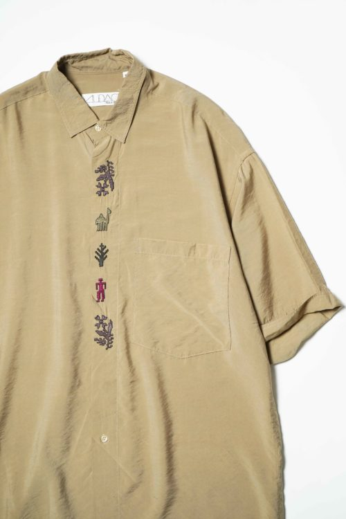 AUDACE FRONT EMBROIDERY S/S SHIRTS