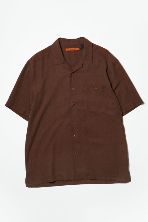 PAISLEY S/S SHIRT BROWN