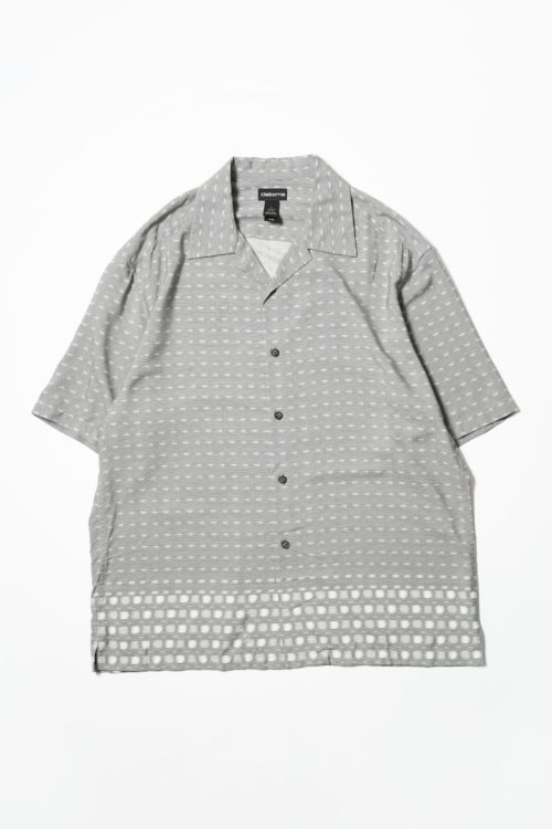 DESIGN RAYON GRAY S/S SHIRTS