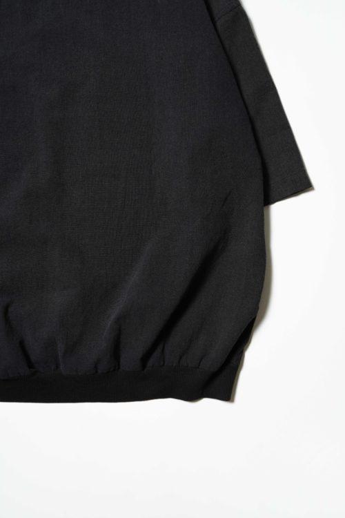 DESIGN PULLOVER S/S 墨 BLACK