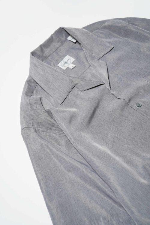 POLYESTER FABRIC S/S SHIRTS GRAY