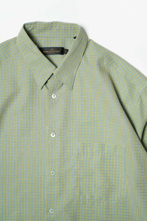 GREEN CHECK S/S SHIRT