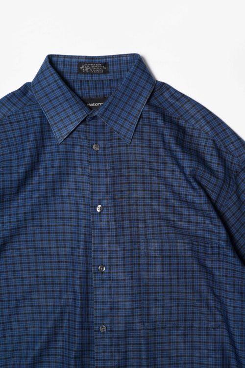 BLUE CHECK S/S SHIRT