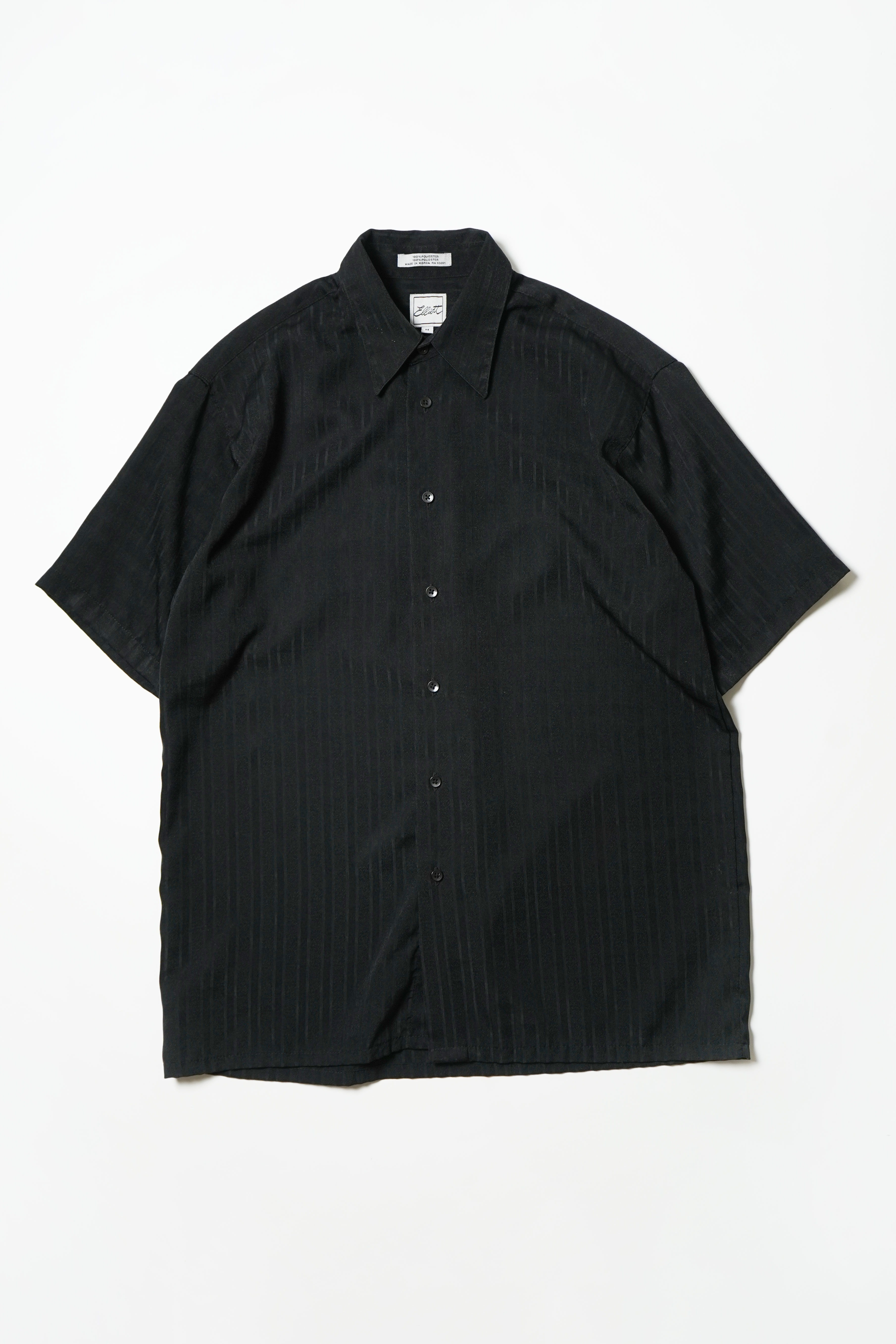 STRIPE BLACK DESIGN S/S SHIRT