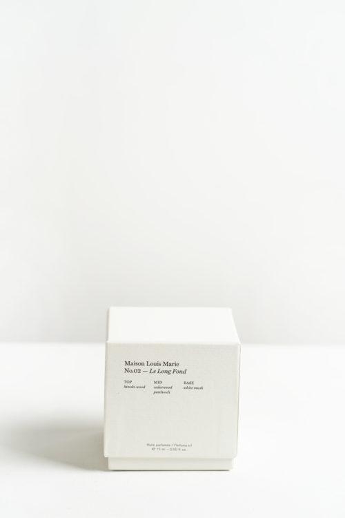 No.2 Le Long Fond Perfume oil