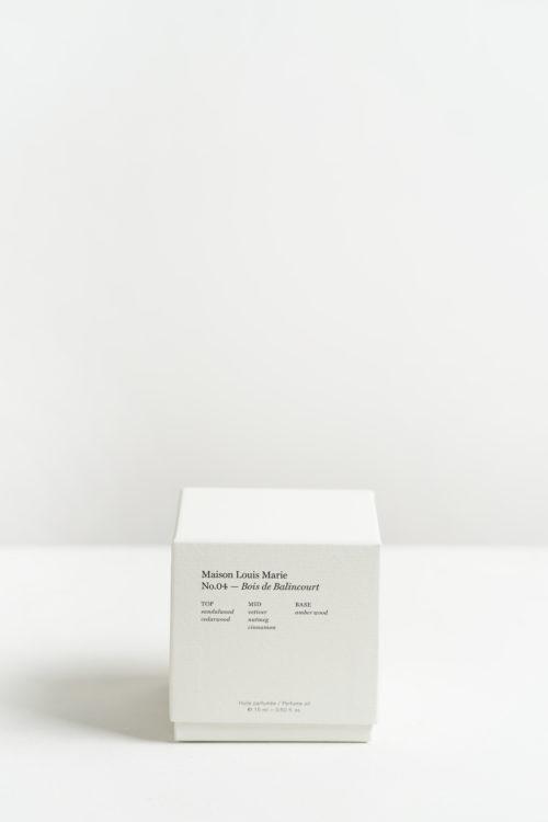 No.4 Bois de Balincourt Perfume oil