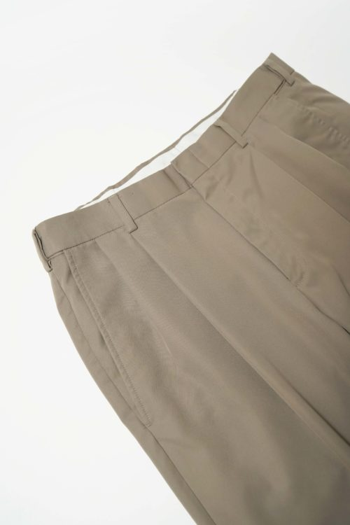 REMAKE SLACKS PANTS BROWN GREY