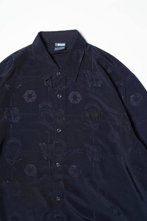 PATTERNED DESIGN S/S SHIRTS
