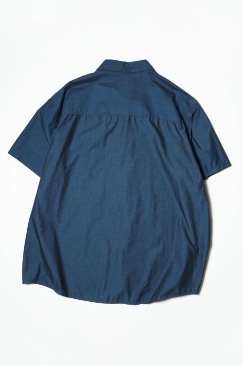OVERSIZE BLUE TONE S/S SHIRTS