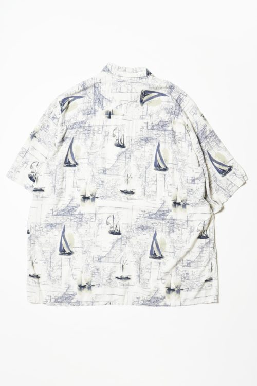 MAP DESIGN S/S RAYON SHIRTS