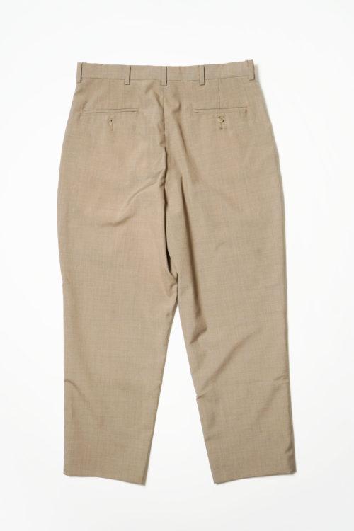 REMAKE SLACKS PANTS BROWN