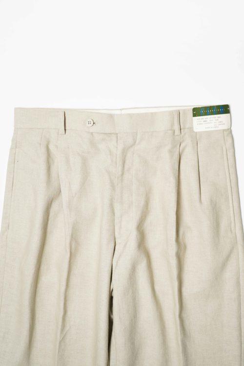 REMAKE SLACKS PANTS LINEN