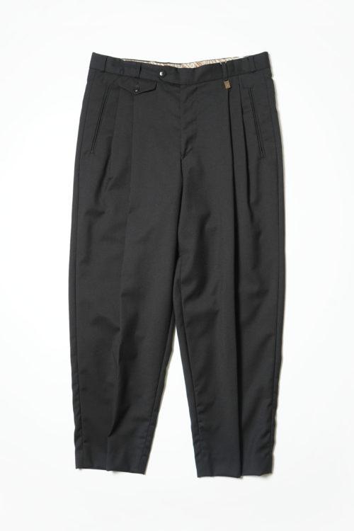 REMAKE SLACKS PANTS BLACK