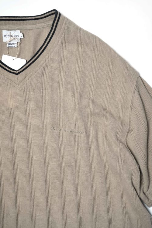 Calvin Klein COTTON KNIT SHIRT