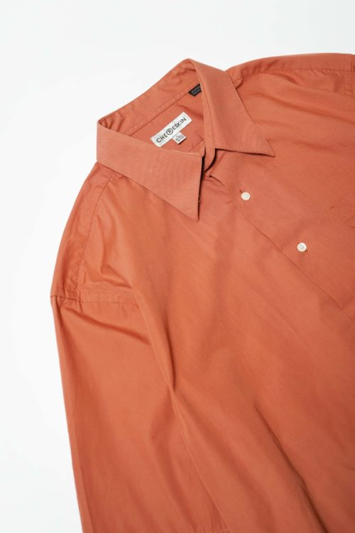 COTTON S/S SHIRT ORANGE