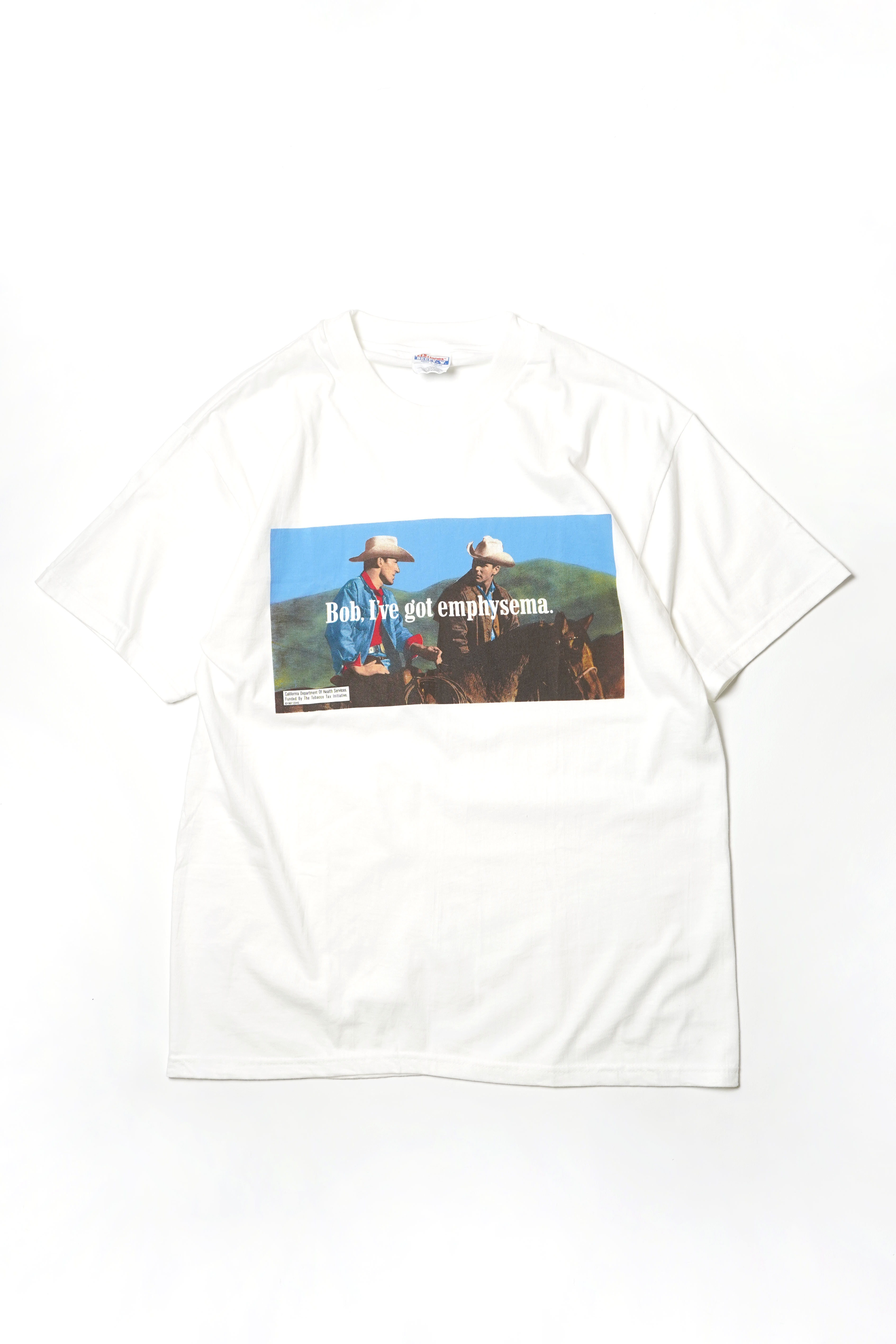 emphysema  DEADSTOCK PRINTED TEE