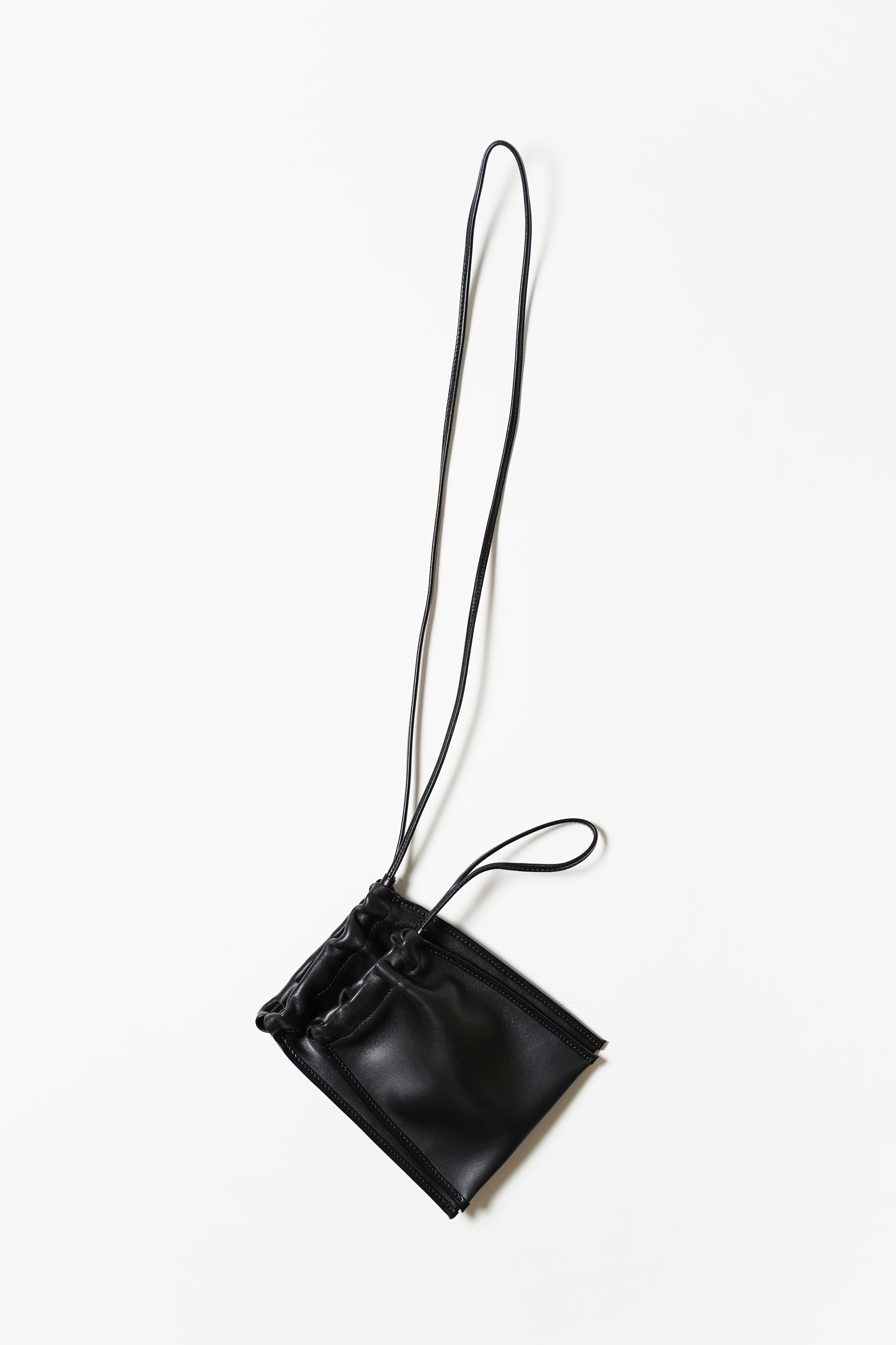 Scrunch Pouch In Black
