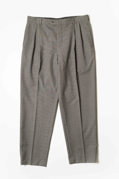 PURE WOOL REMAKE SLACKS PANTS GRAY