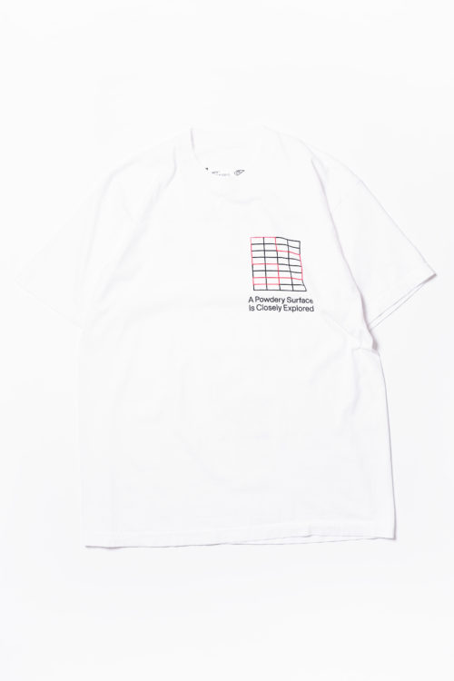 MF9 A POWDERY SURFACE TEE SHIRTS