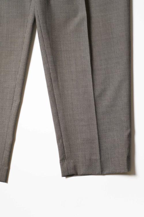 PURE WOOL REMAKE SLACKS PANTS GRAY