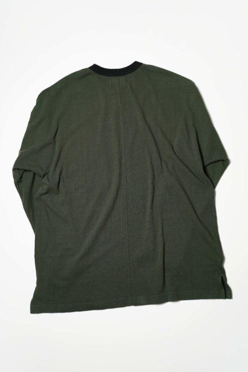 DOLMAN L/S TEE SHIRTS GREEN