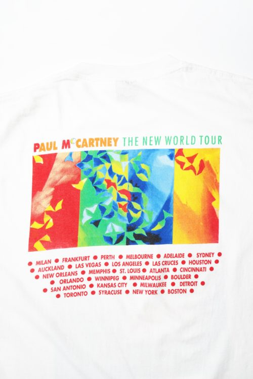 PAUL M CARTNEY THE NEW WORLD TOUR TEE