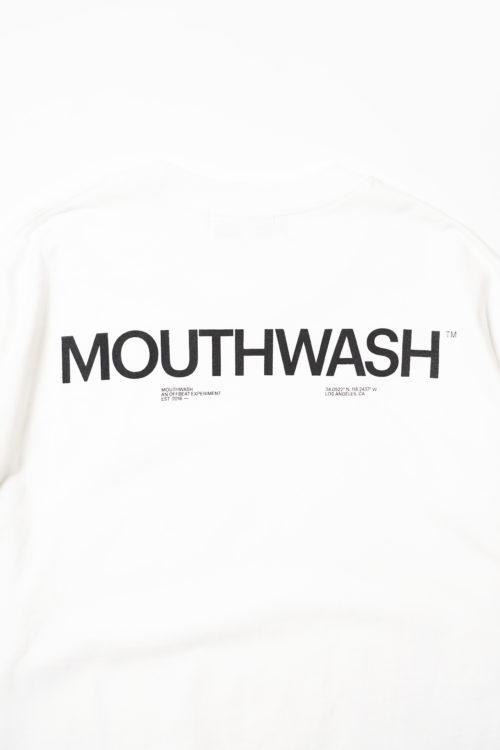 MOUTHWASH GLOBE TEE WHITE