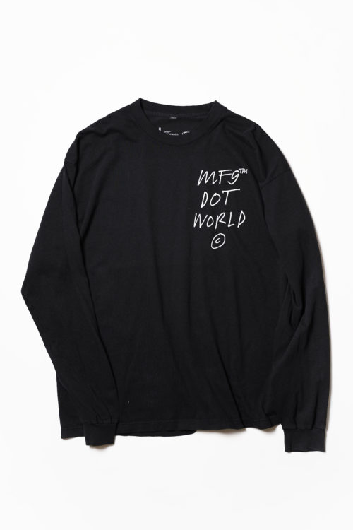 MF9 Dot World L/S TEE SHIRTS