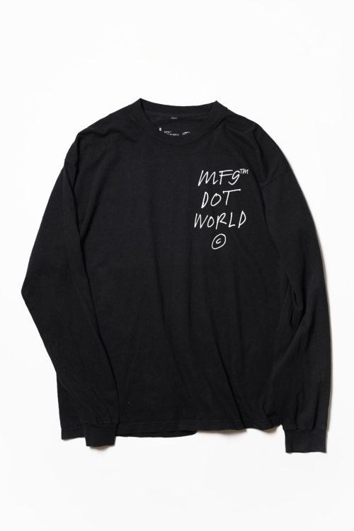 Dot World L/S TEE SHIRTS
