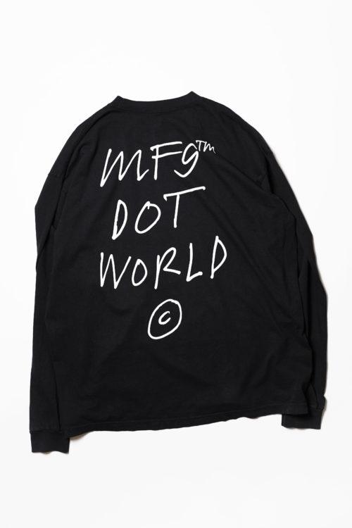 MF9 Dot World L/S TEE SHIRTS