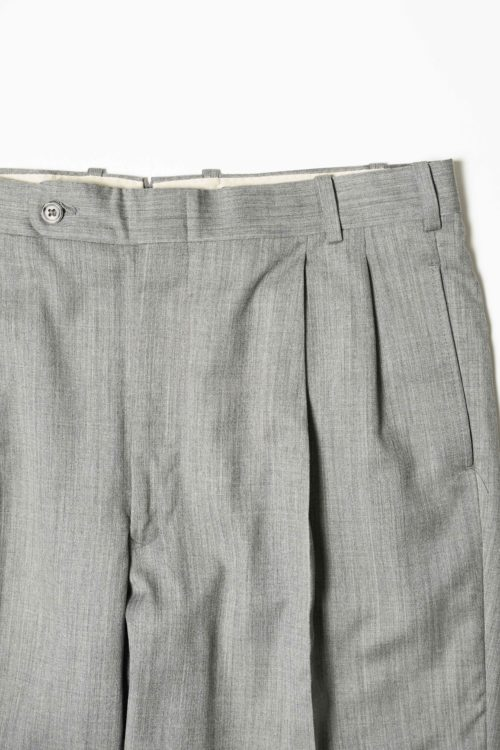 REMAKE SLACKS PANTS GRAY COLOR