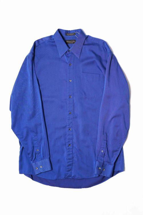 TENCEL L/S SHIRT BLUE